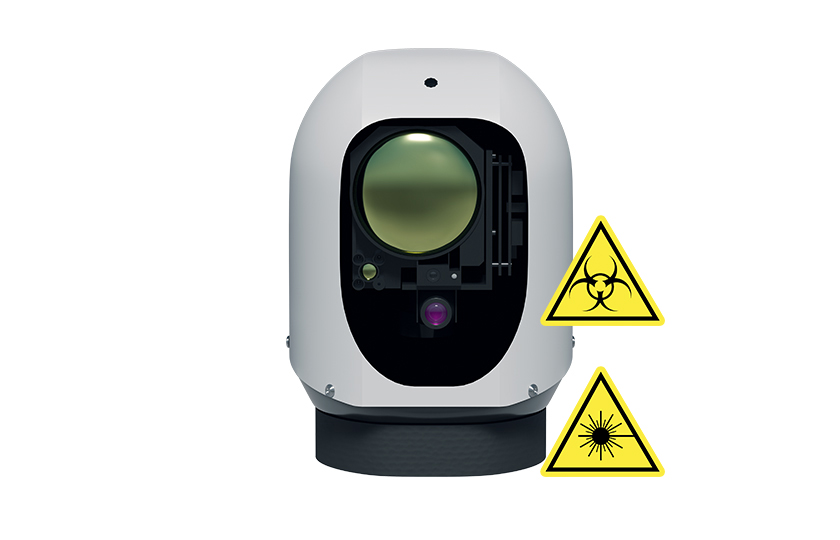 Gas detector with video cameras Z-16GAS-M-VR